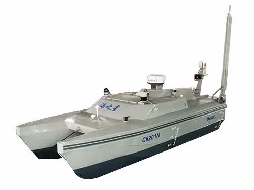 海洋巡查检测双体无人船