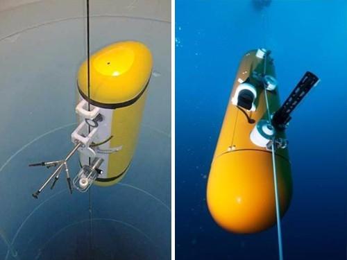 锚定可移动剖面潜水器